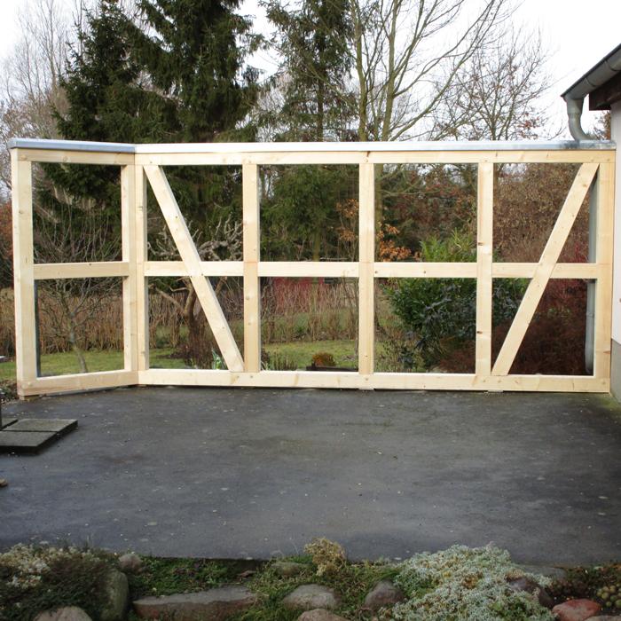 Fachwerk Carport: Dach- & Holzbau Grawe